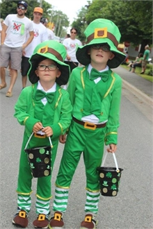 Irish Festival Clan Walking Parade 2015