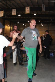 Jake the Snake Roberts in Miramichi