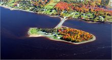 Middle Island in the Fall