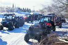 Winter ATV Trail Ride