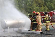 Fireman refresh their skills