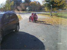 NBCC nursery kids visit the seniors at Tweedie Manor.