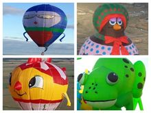 Four new characters at International Balloon Fiesta