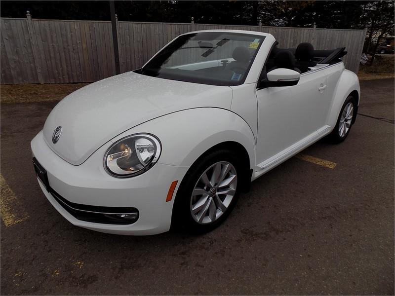 2015 Volkswagon Beetle Convertible Comfortline  16