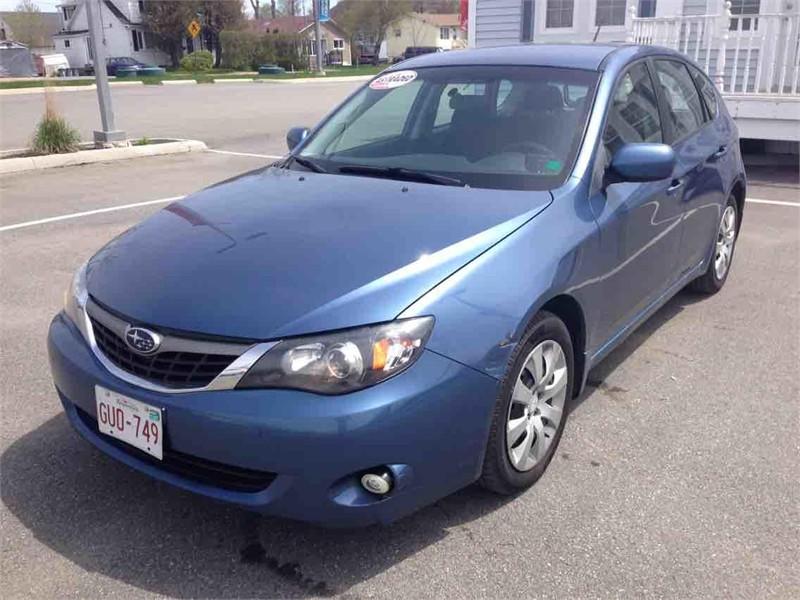 Saint John Automotives for Sale 2009 Subaru Impreza