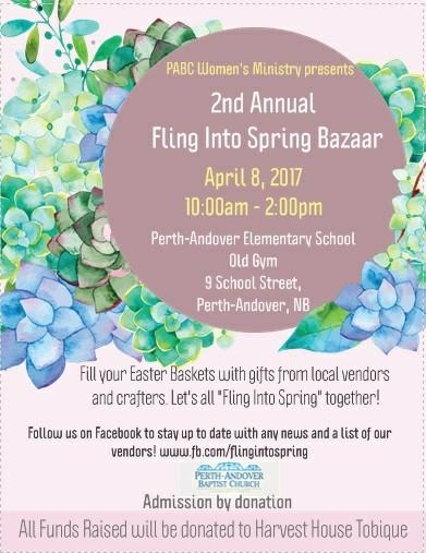 2nd Annual Fling Into Spring Bazaar