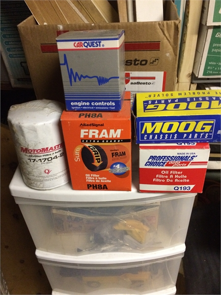 Mazda RX7 Parts and Ford filter