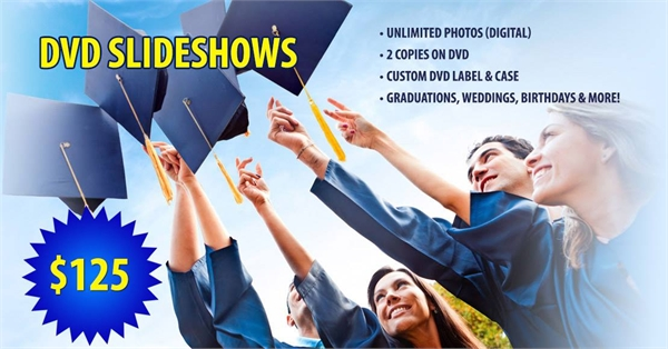 Graduation DVD Slideshows
