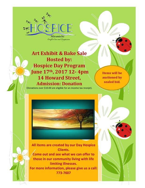 Art Exhibit & Bake Sale