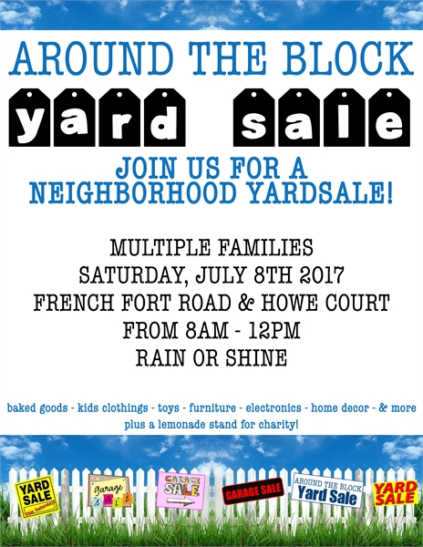 Around The Block Yard Sale