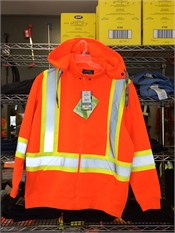 Miramichi's Local Marketplace and Deals Orange Reflective Hoodie