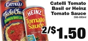 Miramichi's Local Marketplace and Deals tomatosauce