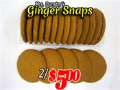 Saint John's Local Marketplace and Deals gingersnaps