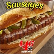 Saint John's Local Marketplace and Deals sausages