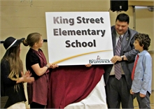 King Street Elementary School Named in Ceremony (Anthony McLean Photos)
