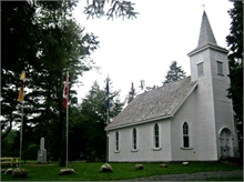 Replica of Saint James Presbyterian Church at Wilson's Point