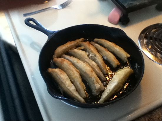 From the Frying Pan to the Mouth.. Yum