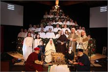 Living Christmas Tree hits the stage