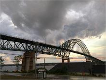 Dramatic View of the Centennial Bridge