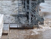 Grand Falls Dam-2008 Spring Thaw