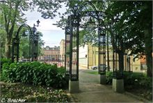 Loyalist Cemetery Gates