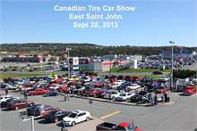 Canadian Tire's Annual Car Show was held Sept. 28 with over 80 cars registered. It was a good day with the sun shining, bbq and 50/50 draw. Money raised went in support of the Saint John Boys and Girls Club.