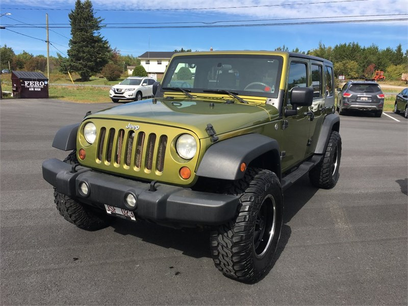 Miramichi Automotives for Sale 2007 Jeep Wrangler