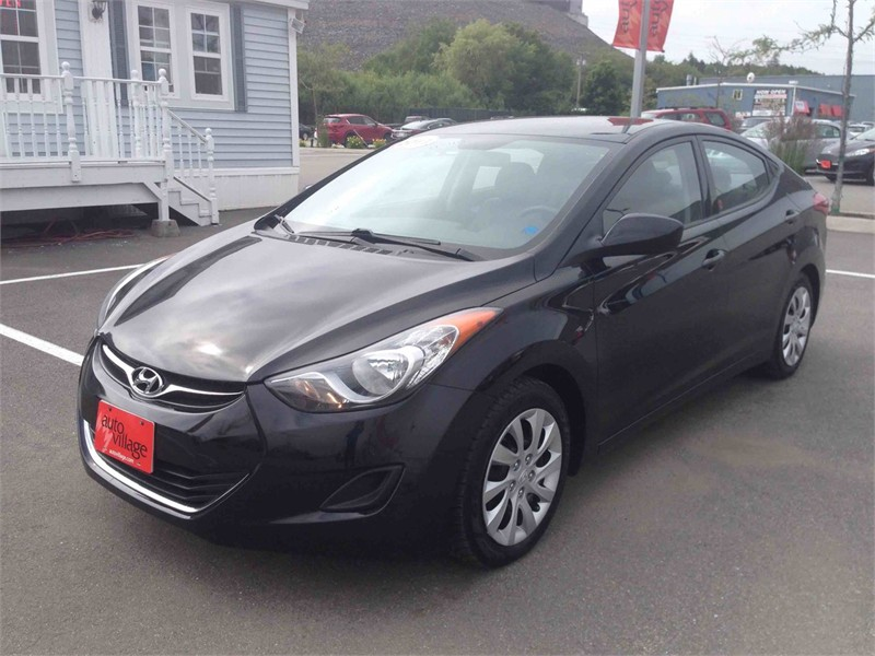 Saint John Automotives for Sale 2013 HUYNDAI ELANTRA