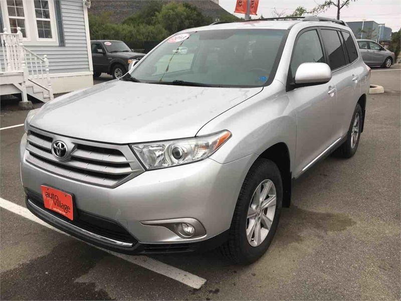 Saint John Automotives for Sale 2013 Toyota Highlander