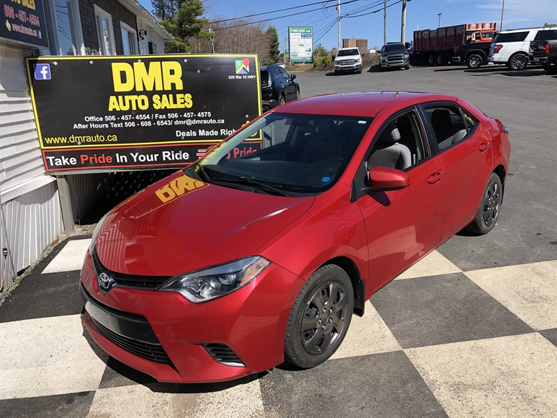 Miramichi Automotives for Sale 2016 Toyota Corolla