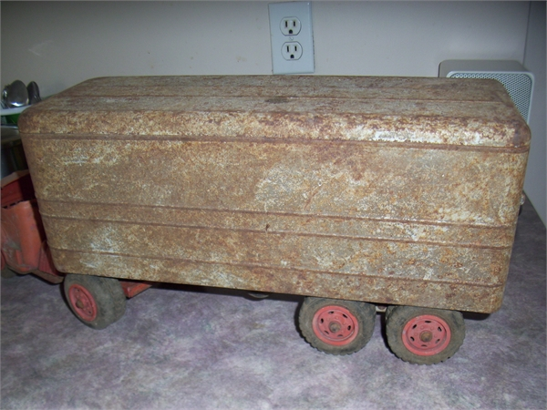 Wanted:  WANTED- old steel and tin toys
