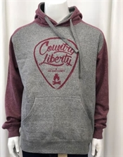 Miramichi's Local Marketplace and Deals country-liberty-cl-raglan-hoodie-graphite-maroon