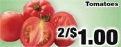 Miramichi's Local Marketplace and Deals tomatos