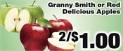 Miramichi's Local Marketplace and Deals apples