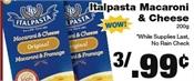 Miramichi's Local Marketplace and Deals pasta
