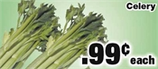 Miramichi's Local Marketplace and Deals celery