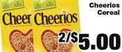 Miramichi's Local Marketplace and Deals cheerios