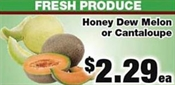 Miramichi's Local Marketplace and Deals honeydew