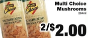 Miramichi's Local Marketplace and Deals mushrooms