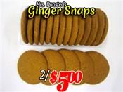 Saint John's Local Marketplace and Deals gingersnaps