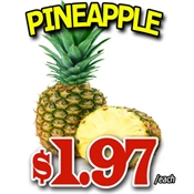 Saint John's Local Marketplace and Deals pineapple